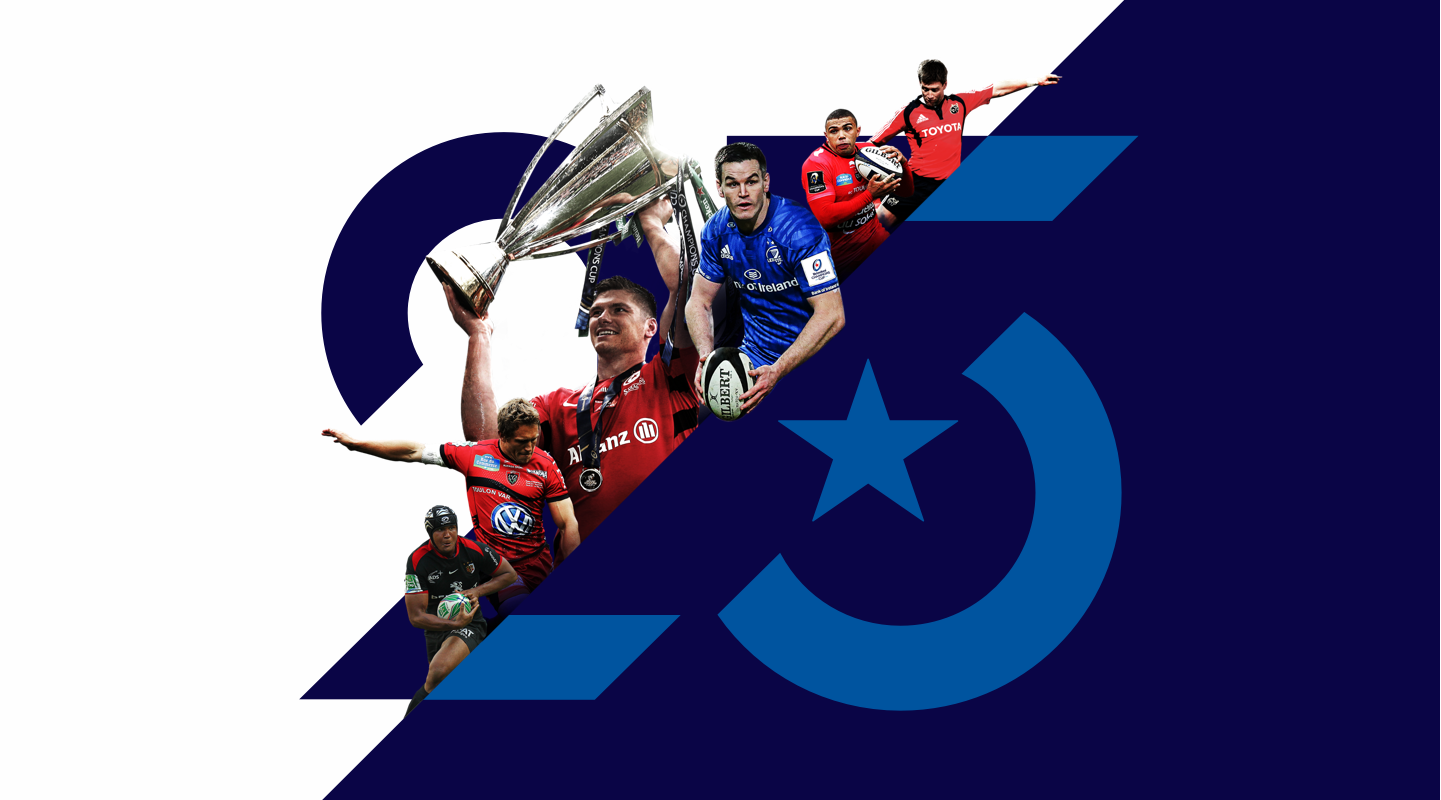 25 year champions cup key visual graphic