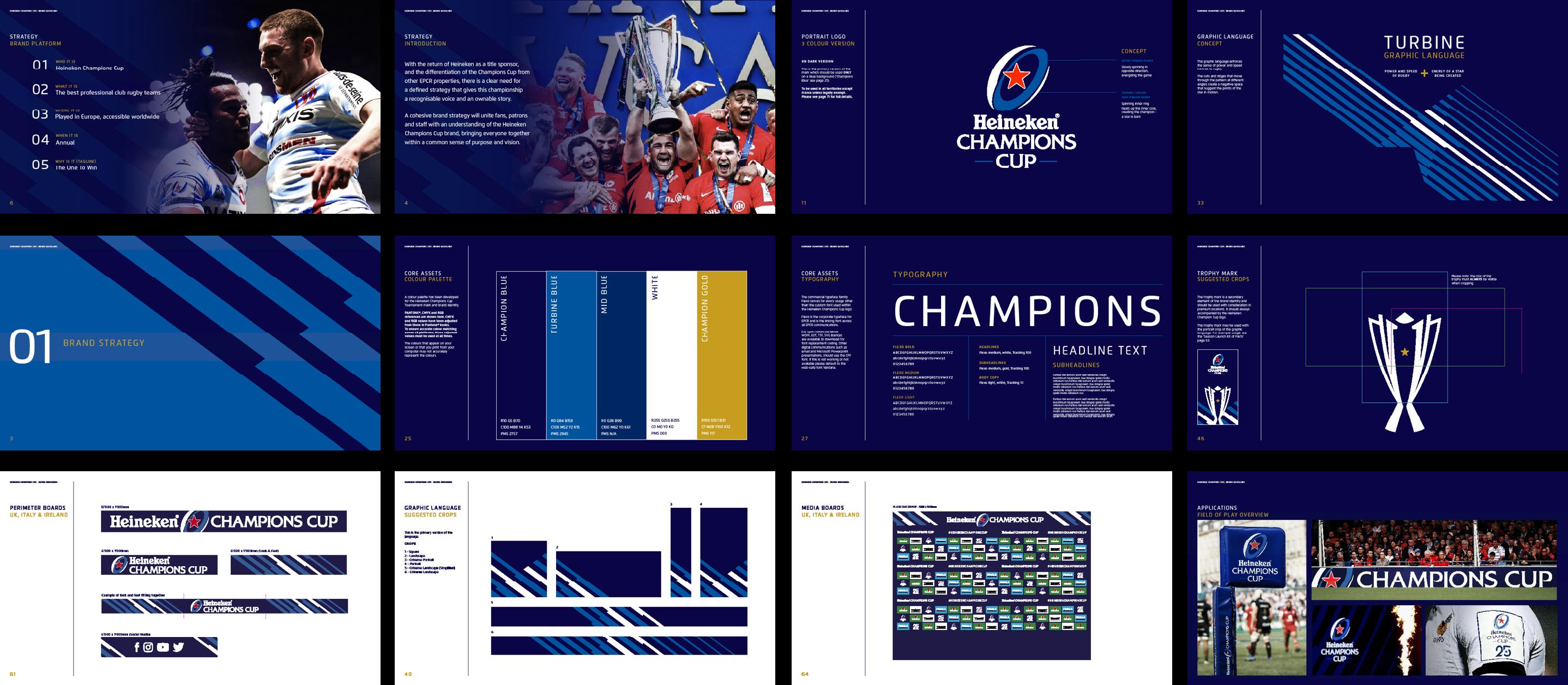 Heineken Champions Cup brand guidelines