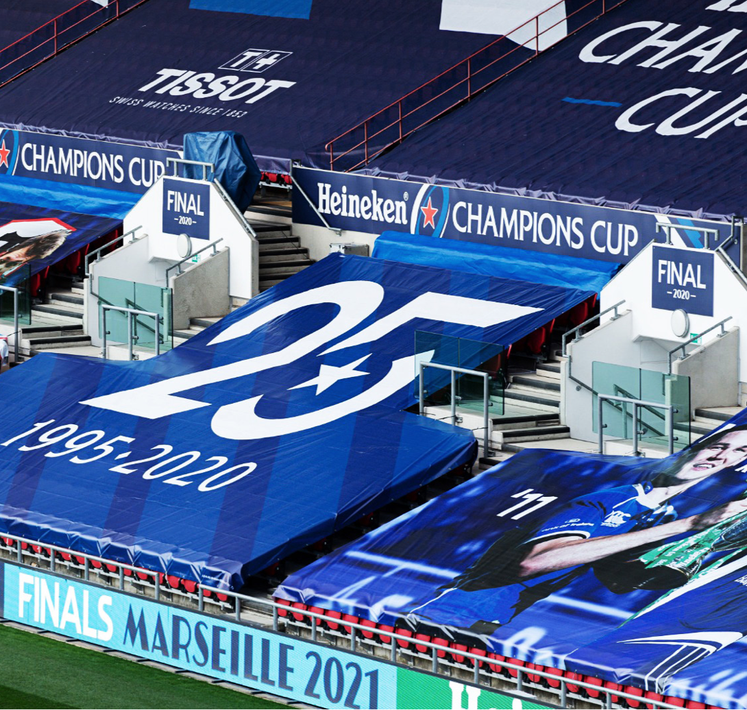 Champions cup stadium blue seat covers
