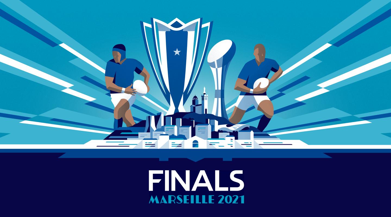 HCC Marseille 2021 geometric illustration