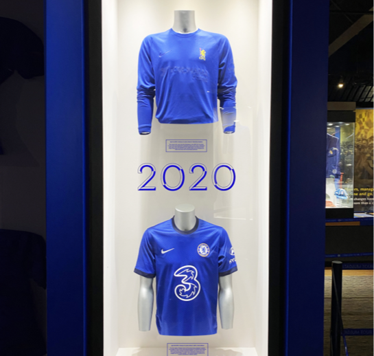Blue Chelsea shirts from 2020