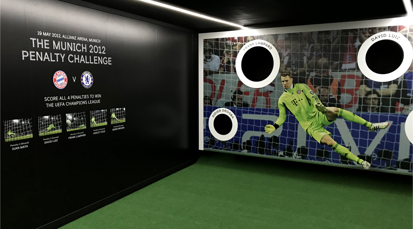 Chelsea FC penalty shoot out activation