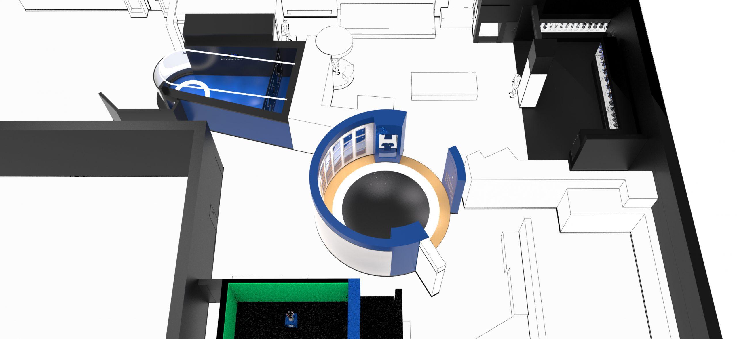 Chelsea FC Spatial Museum render