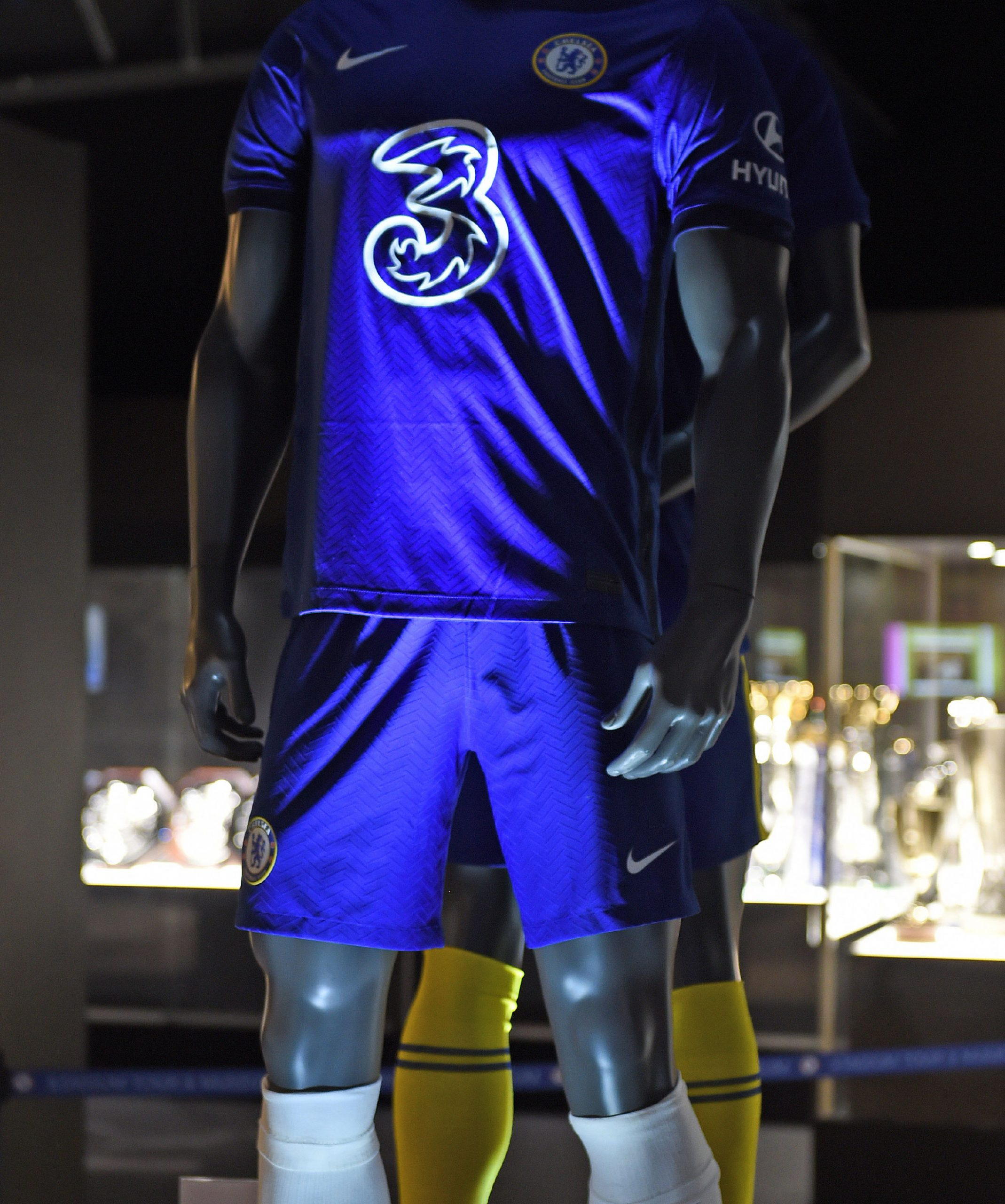 Chelsea 3 kit display