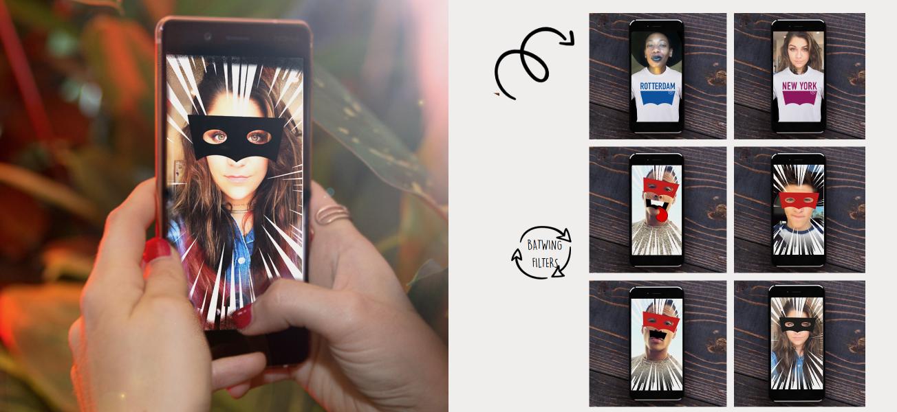 Levi's mobile interactive AR campaign