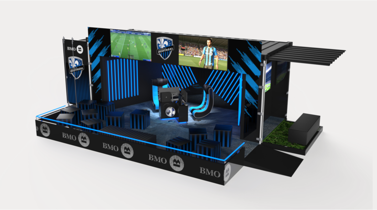 MTL gaming container render