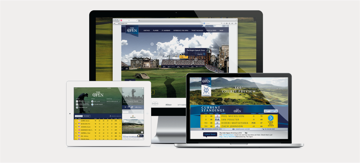 The Open digital devices website