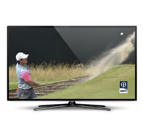The Open on TV