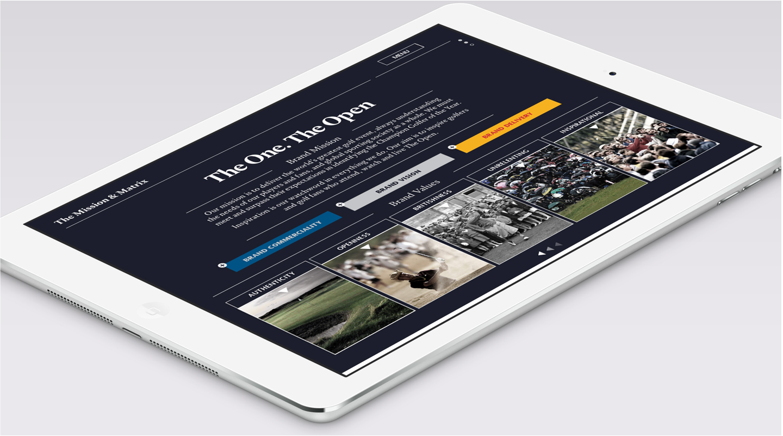 The Open ipad app