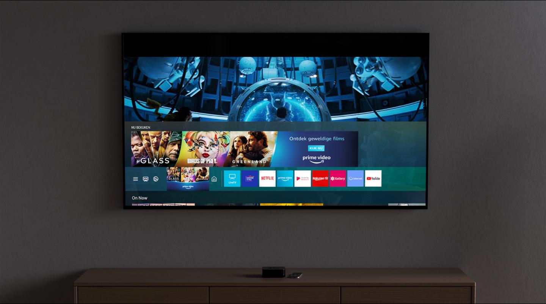 Amazon Prime TV user interface