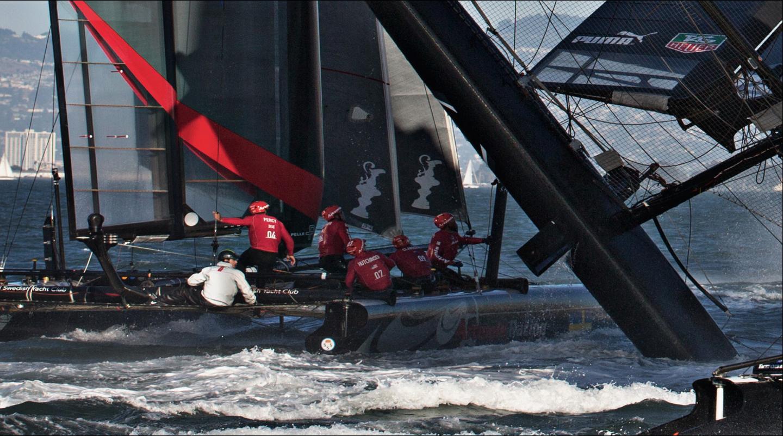 America's Cup Boat Crew