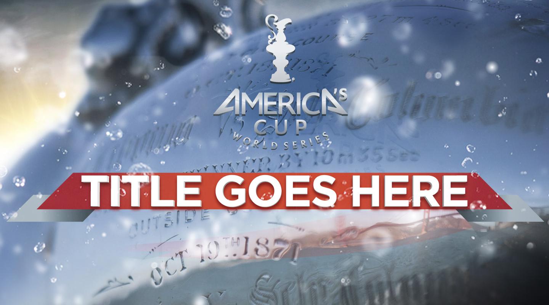 America's Cup Headline