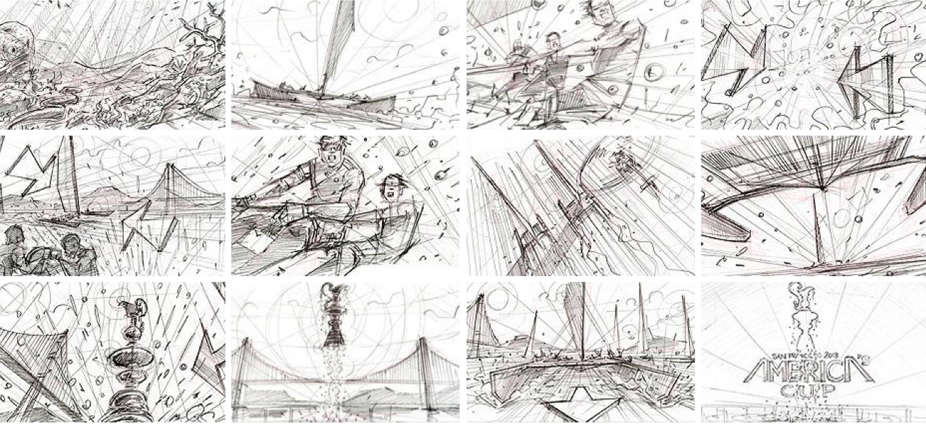 America's Cup Sketches