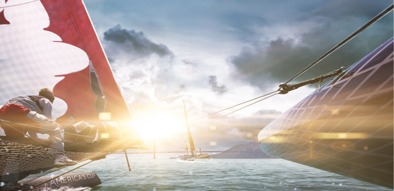 America's Cup Sail Boat