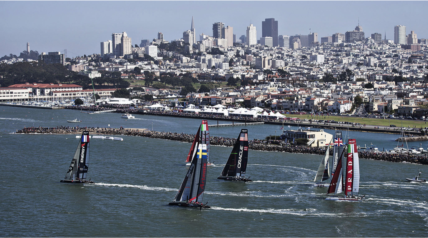 America's Cup Sail Boat Race