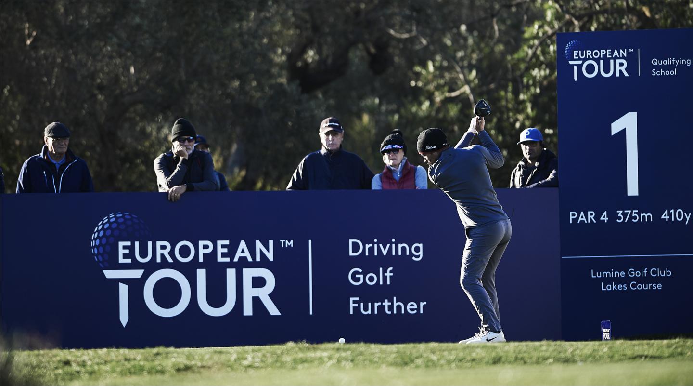 European Tour Golfer Shot