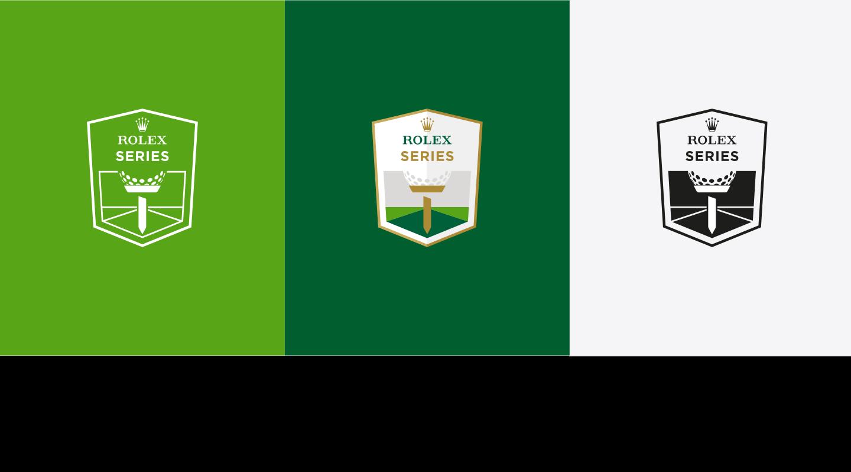 European Tour Rolex Series Green Logo